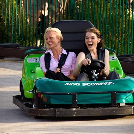 Boondocks - Two Women Riding Go Kart
