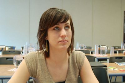 Boondocks - Woman In Meeting - Focused