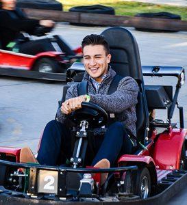 Boondocks - Man Riding Go Karts
